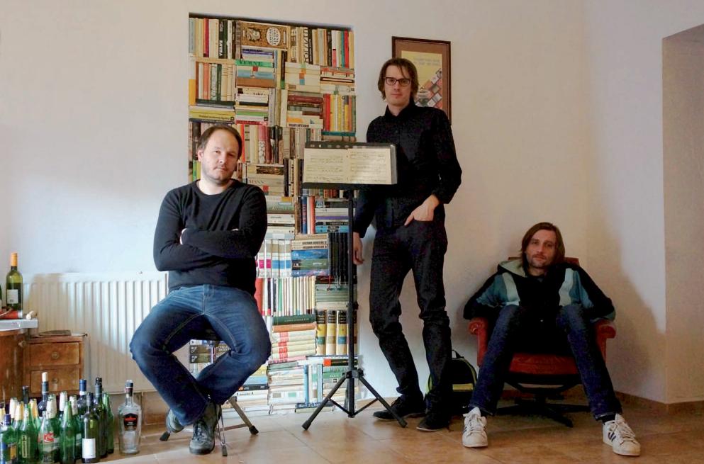 Men at sound - Trenčín, 2014